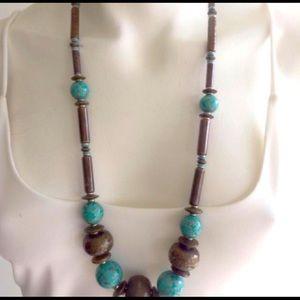 Authentic Ceramic beaded necklace
